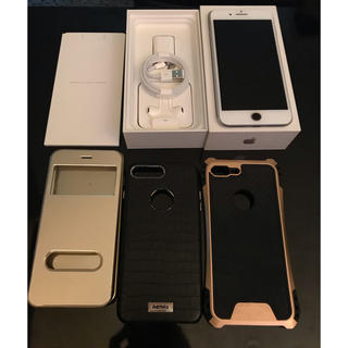 Apple - アイホン 7プラス 128GB SIMフリー(シルバー)