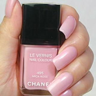 CHANEL - ペールピンクネイル