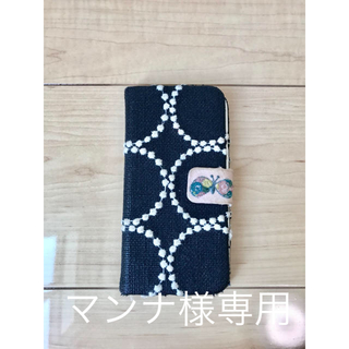 ミナペルホネン(mina perhonen)のミナペルホネン タンバリン×チョウチョウ iPhone 7ケース(スマホケース)