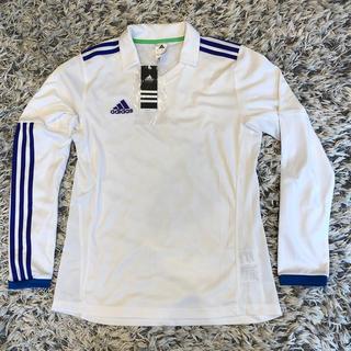 アディダス(adidas)のadidas アディダス 長袖プラクティスシャツ サイズ160 新品 タグ付き(ウェア)
