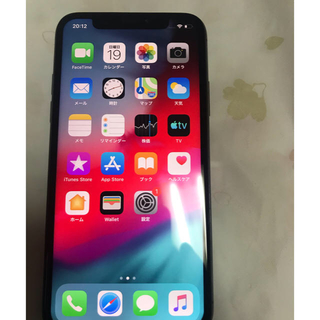 iPhone - Iphone X softbank 64Gb Space Gray