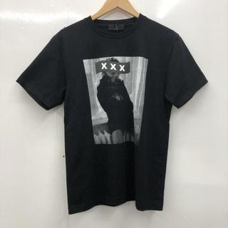 ジィヒステリックトリプルエックス(Thee Hysteric XXX)の希少 新作 ゴッドセレクションXXX ブラックM (Tシャツ/カットソー(半袖/袖なし))