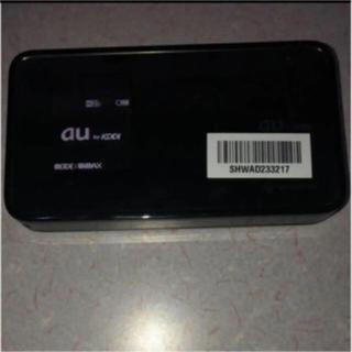 au - au WiMAX 3G ポケットWiFi ルーター  DATA08W