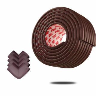 新品未使用 コーナーガード 波形タイプ ベビー 年配の方 ケガ防止 全長5m(コーナーガード)