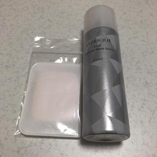 エスプリーク(ESPRIQUE)の新品未使用!エスプリーク ひんやりタッチ 化粧下地スプレー(化粧下地)