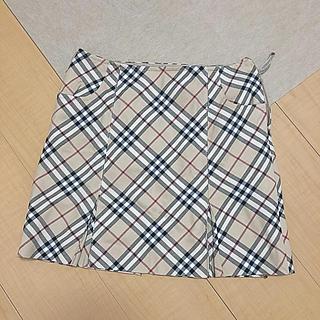 バーバリー(BURBERRY)のBurberry 台形ミニスカート(ミニスカート)
