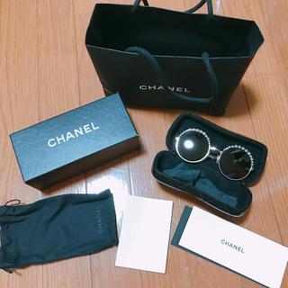 CHANEL - CHANEL パール サングラス