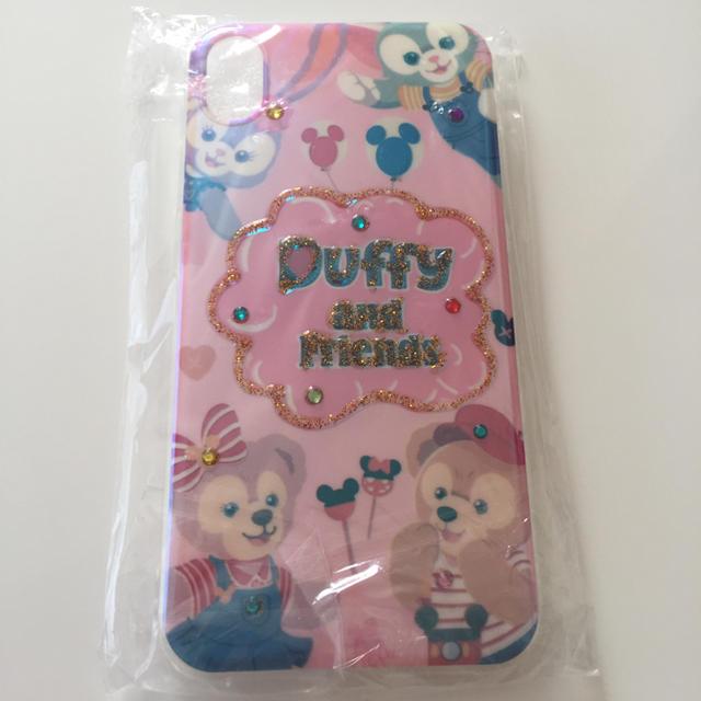 iphone8 透明 ケース 耐 衝撃 - ダッフィー シェリーメイ  ジェラトーニ iPhoneXR iPhoneケースの通販 by mm☺︎︎'s shop|ラクマ
