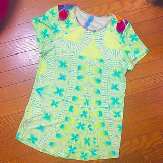 アッシュペーフランス(H.P.FRANCE)のJuana de  arco  ニャンドゥティ カットソー(Tシャツ(半袖/袖なし))