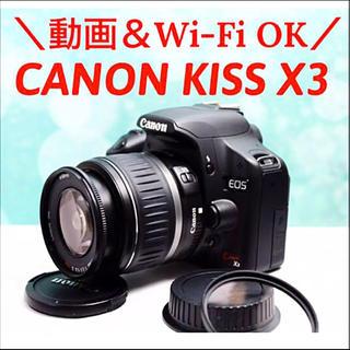 Canon - 動画&Wi-Fi スマホ転送❤️CANON EOS KISS X3 イオス キス