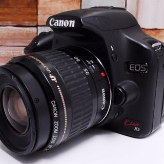 Canon - ★美品★Canon EOS kiss X3 レンズセット