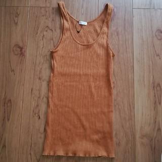 ビューティアンドユースユナイテッドアローズ(BEAUTY&YOUTH UNITED ARROWS)のbeauty&youth リブタンク 未使用(Tシャツ(半袖/袖なし))