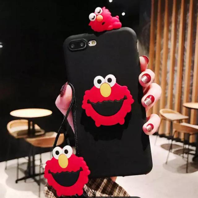 SESAME STREET - ◆新品◆  エルモ/クッキーモンスターのiPhoneケース 可愛いの通販 by るり's shop|セサミストリートならラクマ