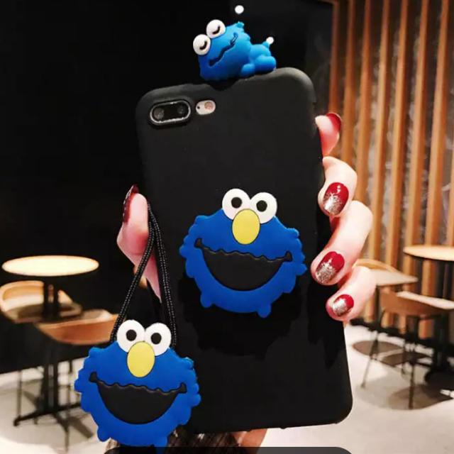 iphone xr ケース ネックストラップ / SESAME STREET - ◆新品◆ 可愛い エルモ/クッキーモンスターのiPhoneケースの通販 by るり's shop|セサミストリートならラクマ