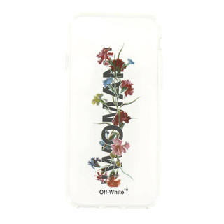 オフホワイト(OFF-WHITE)のFLOWERS 8 COVER / TRANSPARENT MULTICOLOR(iPhoneケース)