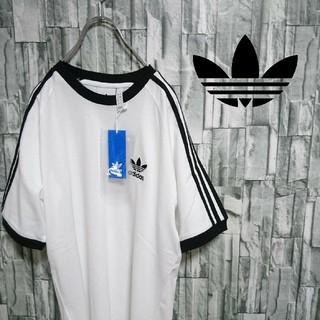 アディダス(adidas)のadidas originals 新品未使用 ラインTシャツ  3本線 三本線(Tシャツ/カットソー(半袖/袖なし))