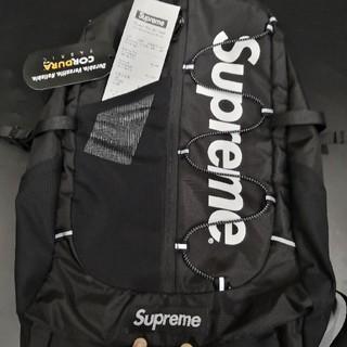 Supreme - シュプリーム バックパック 17ss ブラック