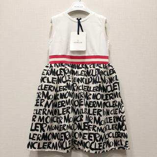 モンクレール(MONCLER)の日本未発売【モンクレールキッズ】ワンピース ドレス(6A)(ワンピース)