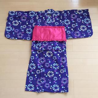アンパサンド(ampersand)のAMPERSAND 浴衣(ちょうちょ柄)130(甚平/浴衣)