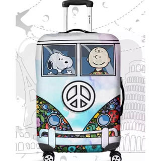 スヌーピー(SNOOPY)のラスト1点 SALE スーツケースカバー スヌーピー  M(スーツケース/キャリーバッグ)