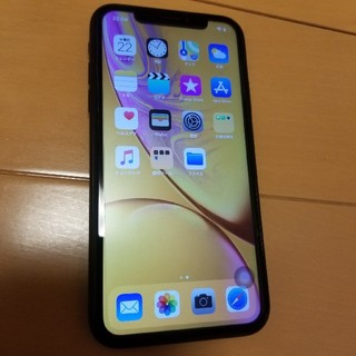 iPhone - iphoneXR 64G 超美品 au