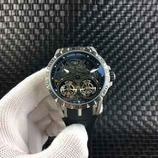 ROGER DUBUIS - 自動巻き ROGER DUBUIS   ロジェデュブイ ラバーベルト 腕時計