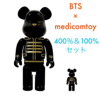 メディコムトイ(MEDICOM TOY)のBTS ベアブリック  400% & 100% セット medicomtoy(アイドルグッズ)