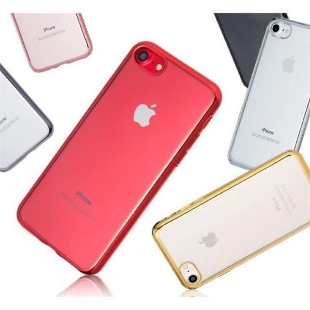 携帯 ケース iphone8 プラス | クリアケース サイドカラー iPhone XR,XS,Max対応の通販 by yuka's shop|ラクマ