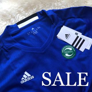 アディダス(adidas)の【新品】adidas アディダス Tシャツ クライマクール ブルー M(トレーニング用品)