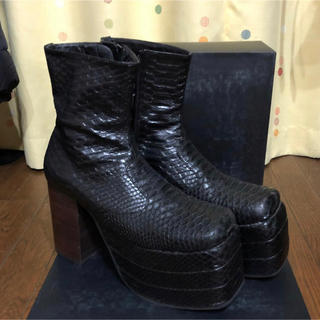 コムデギャルソン(COMME des GARCONS)のロンドンブーツ 極美品(ブーツ)