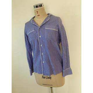 AMERICANA - 美品★アメリカーナ ★パジャマ シャツ ストライプシャツ  M
