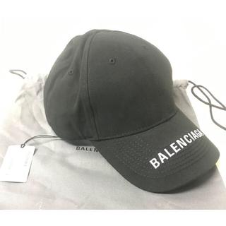 Balenciaga - BALENCIAGA ロゴ刺繍ベースボールキャップ 新品タグ付き