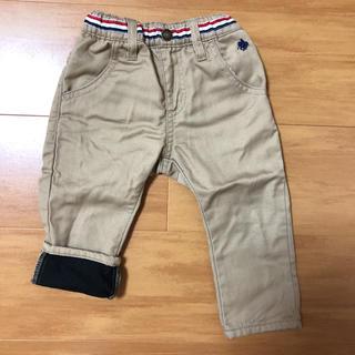 シマムラ(しまむら)のバースデイ ポロベビー 裏起毛 パンツ 長ズボン 80(パンツ)