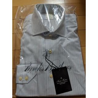 ブルックスブラザース(Brooks Brothers)のブルックスブラザーズ・ドレスシャツ(ブルー・ストライプ)(シャツ)