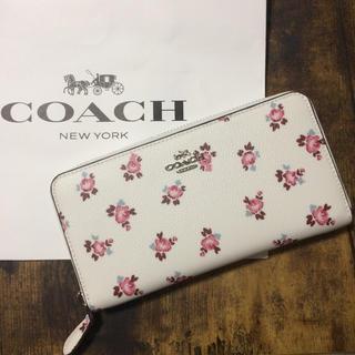 COACH - 売り切り!新品未使用 コーチ 長財布 レディース 正規品  !ホワイト