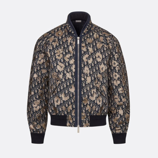 Dior - 46サイズ  DIOR ナイロン ボンバージャケット DIOR OBLIQUE
