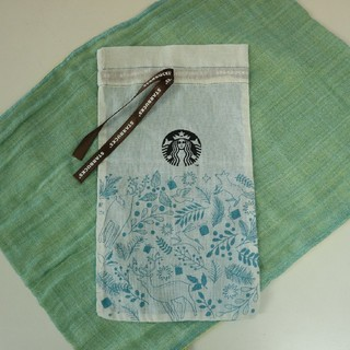 スターバックスコーヒー(Starbucks Coffee)の【未使用】タイスターバックス 2018年ホリデータンブラー袋(その他)