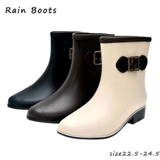 レインブーツ 可愛い 靴 ブーツ 新品未使用❤(レインブーツ/長靴)