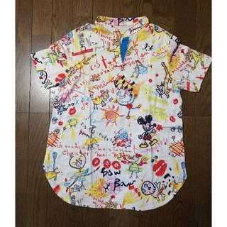 アルベロ(ALBERO)のアルベロベロ えりつき 綿100%シャツ(Tシャツ(半袖/袖なし))