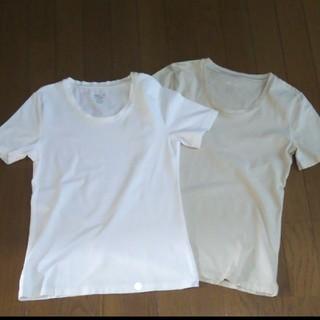 ジーユー(GU)のGU  ジーユー シンプルフイットTシャツ 2枚セット(Tシャツ(半袖/袖なし))