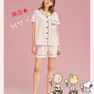 ジーユー(GU)の2019年 GU スヌーピー半袖&ショートパンツルームウェア(パジャマ)