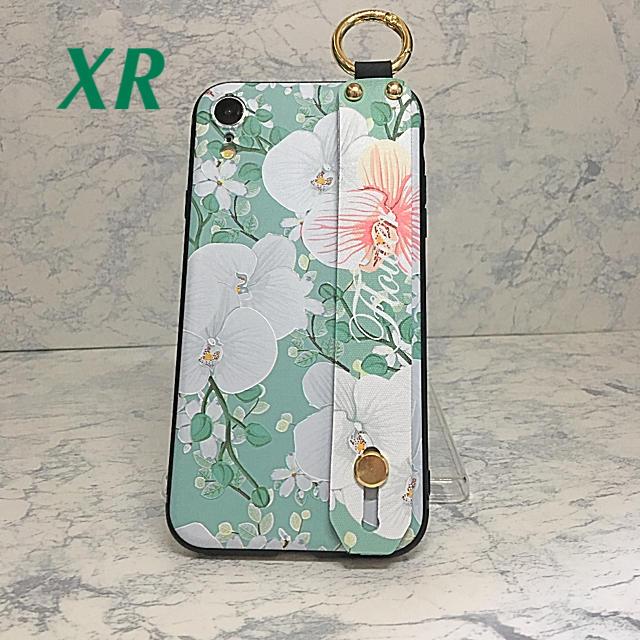 アイフォンXR iPhoneXRケース☆カラビナ付き☆背面ベルト☆送料無料の通販 by ロゴ's shop|ラクマ