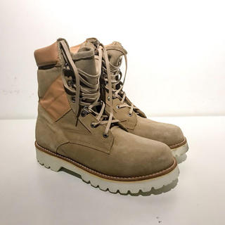 CAMINANDO×monkey time ARMY BOOTS