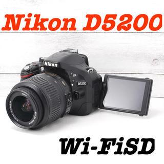 Nikon - ❤️Wi-Fiでスマホに送れる❤️自撮りもOK❤️Nikon D5200