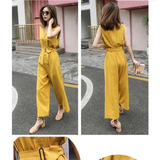 d47130f78d468 ディーホリック(dholic)の韓国ファッション オールインワン ワイドパンツ(オールインワン)