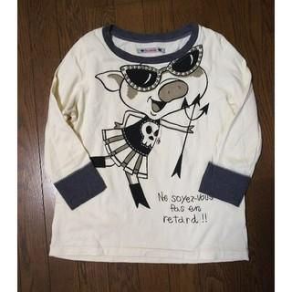 アルベロ(ALBERO)のアルベロベロ ぶたさん  長そでTシャツ(Tシャツ(長袖/七分))