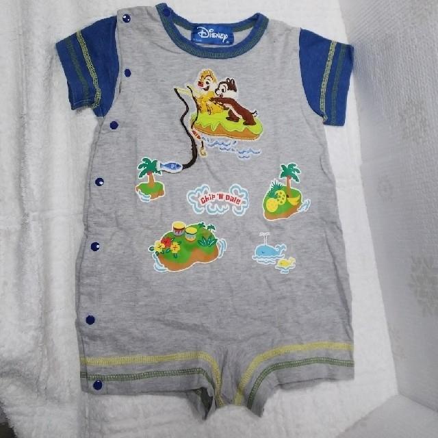 64dcbd94ddcd0 Disney(ディズニー)の80 ディズニー カバーオール キッズ ベビー マタニティのベビー服(