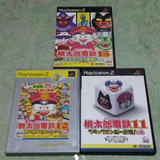 プレイステーション2(PlayStation2)のPS2 桃太郎電鉄11 12 15セット(家庭用ゲームソフト)