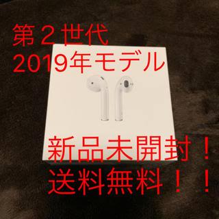 Apple - 【新品未開封】Apple Airpods 第2世代