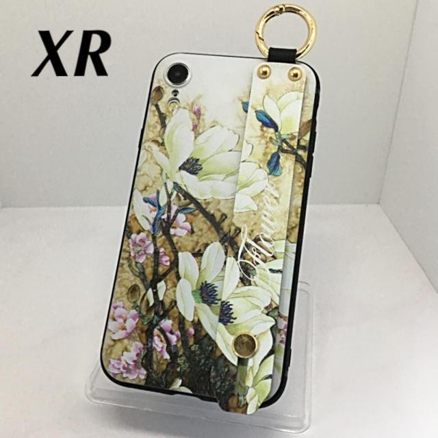 iphone8 ケース ミラー 付き / アイフォンXR iPhoneXRケース☆カラビナ付き☆背面ベルト☆送料無料の通販 by ロゴ's shop|ラクマ